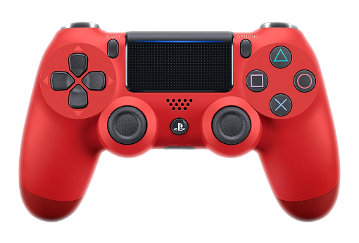 Red DualShock 4