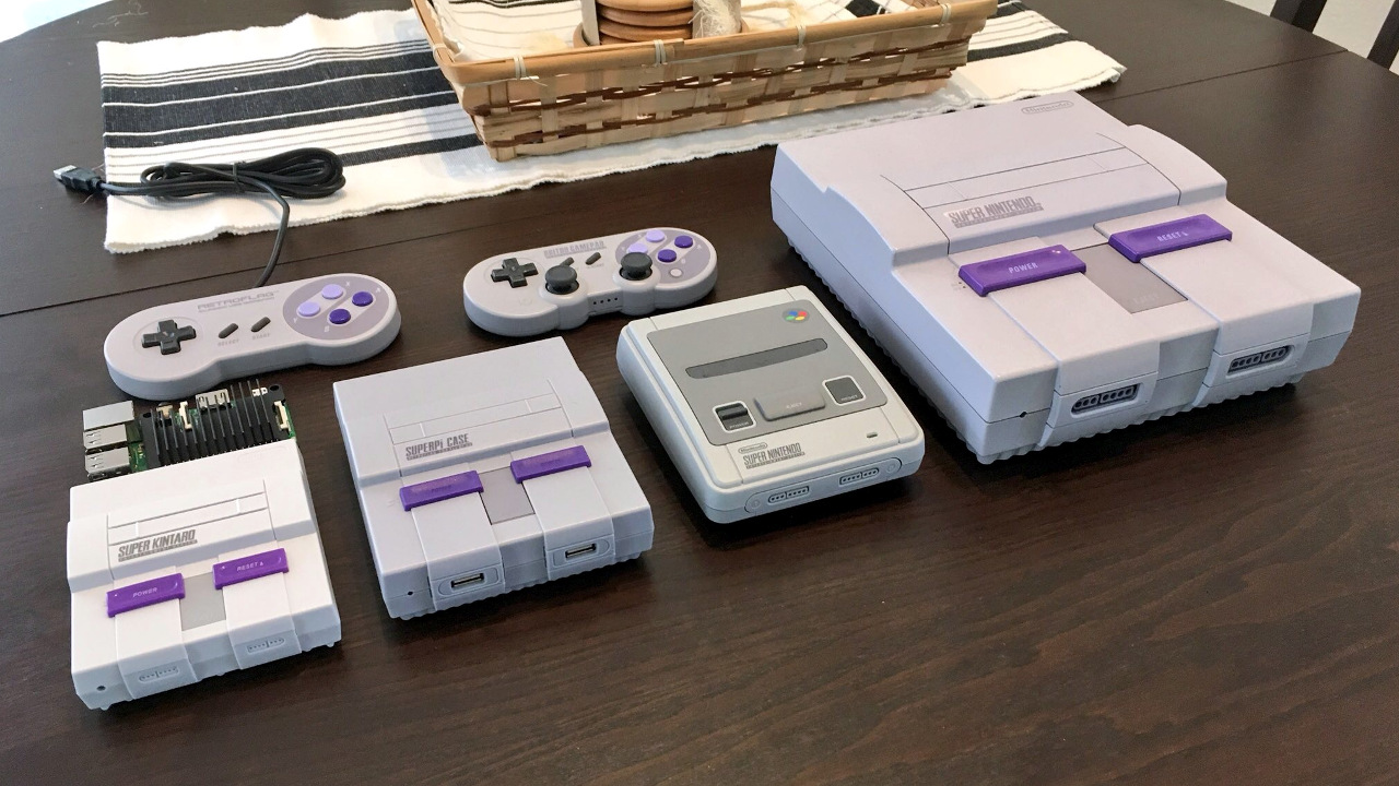 Kintaro Super Kuma, Retroflag SUPERPi, SNES Classic Mini (EU version), original SNES