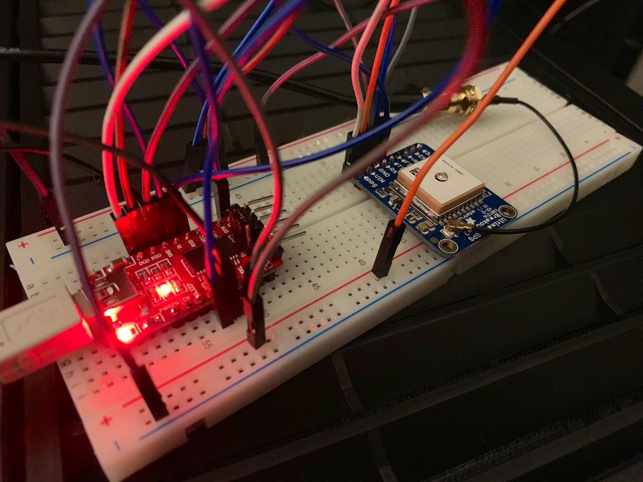 USB GPS PPS receiver (breadboard)